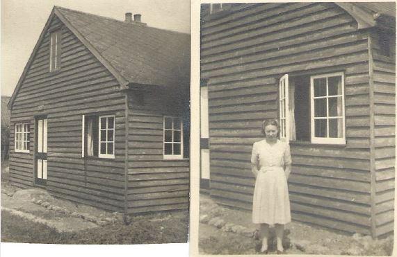 """Betty Shynn's memories of """"The Hut"""", Runwell Gardens"""