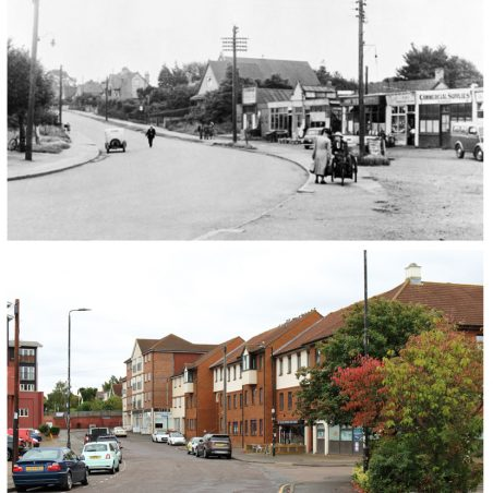'Then and Now' Photos (around the centre of town).