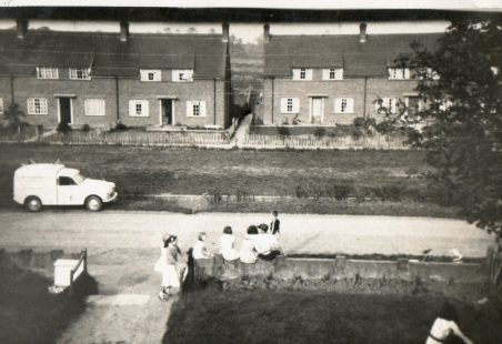 Photographs taken in Church End Lane in 1960s.
