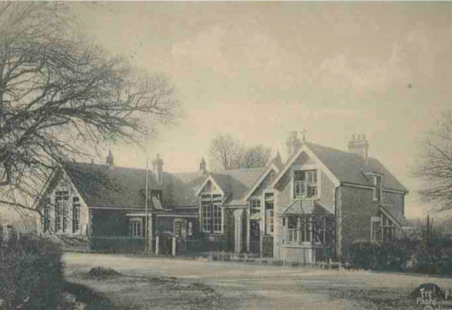 Wickford C of E School in the early years of the 20th century.