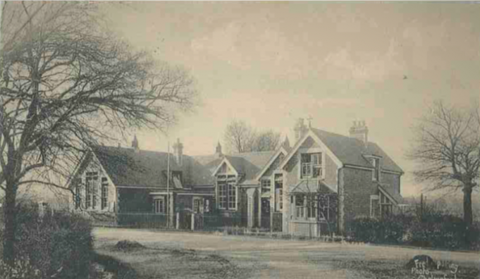 Wickford C of E school, 1911. | Provided by David Morgan