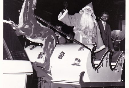 Father Christmas visits Wickford
