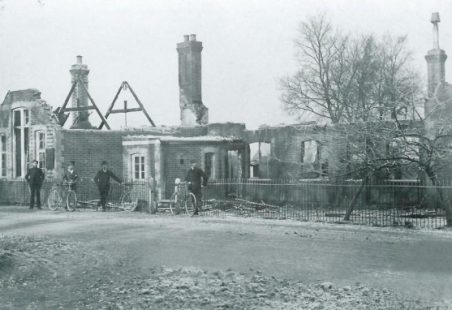 Wickford C of E school fire, 1908.