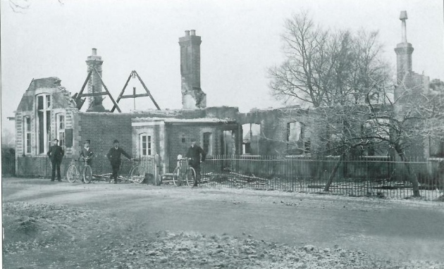 Wickford School fire 1908