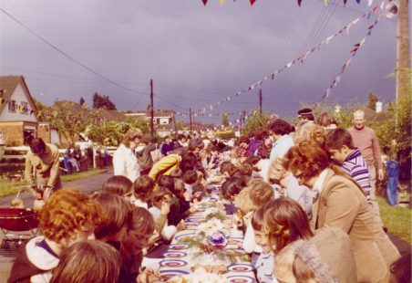 Runwell 1977: Celebrating the Queen's Silver Jubilee.