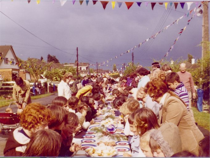Waverley Crescent Silver Jubilee Street Party June 1977