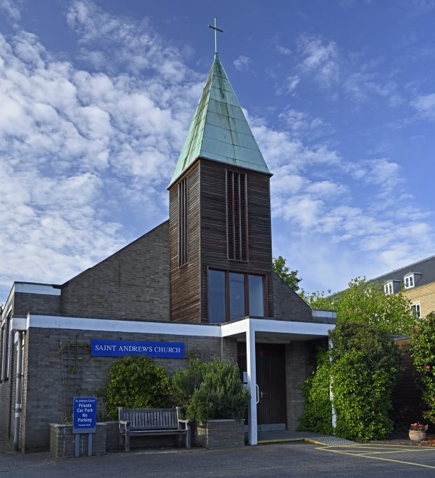 The church of St Andrew the Apostle