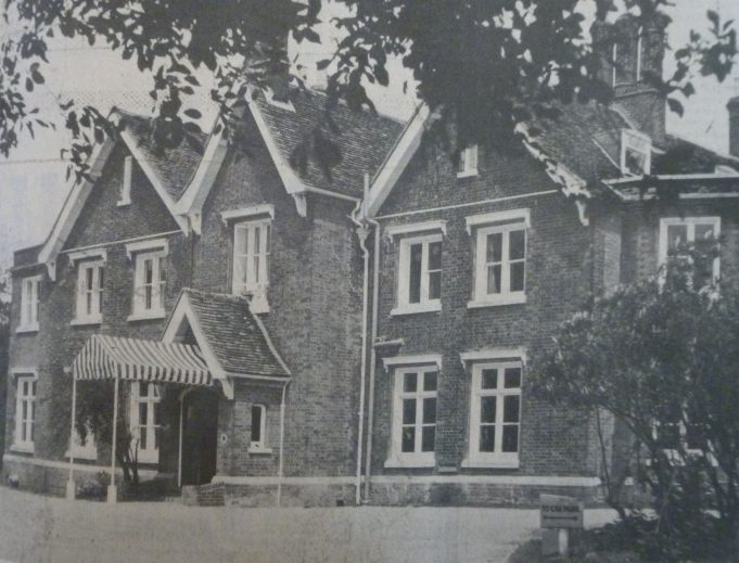 Runwell hall converted to pub 1974