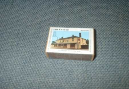 Wickford area pub matchboxes