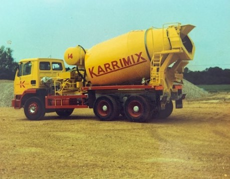 Carter & Ward, more photographs from the Karrimix days.   Jonathan Bramble