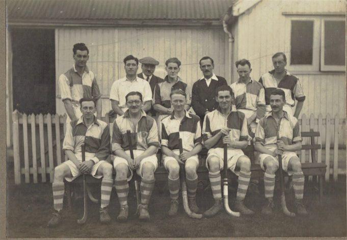 Wickford Hockey Team, 1929 - 1930