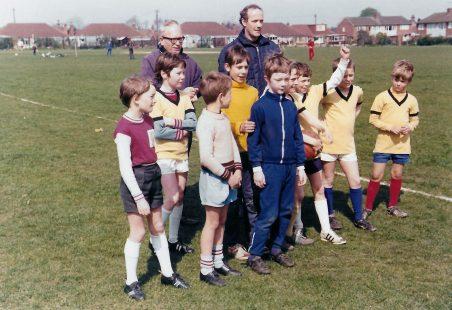 Cubs' football tournament 1971