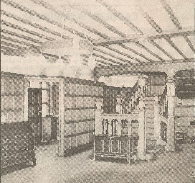 Interior of Fremnells Manor (Echo Newspapers)