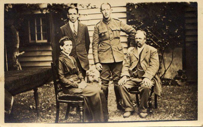 John, Sol, Ada and Frank.  C1919.